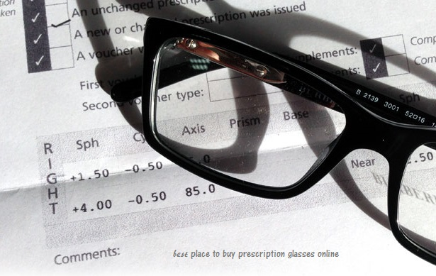 the best place to buy prescription glasses online