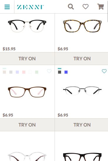 ZenniOpticals - The Best place to buy glasses online