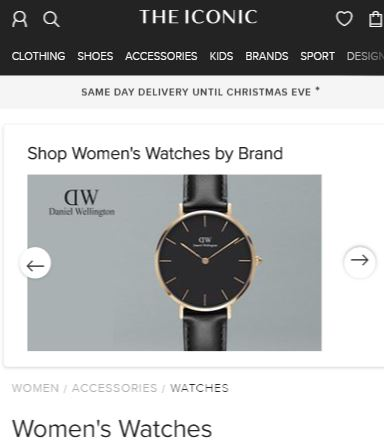 The Iconic - Best online watch store Australia