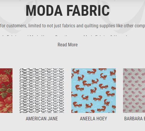 Fifi's fabricology - where to buy moda fabric online