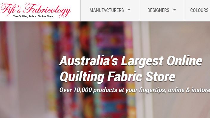 Fifi's fabricology - one of the best online quilt fabric store