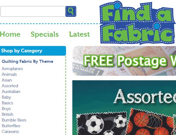 findafabric - Best place to buy quilting fabric online