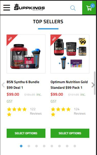 SuppKings Nutrition - best supplement store