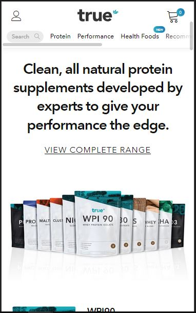 Trueprotein - best place to buy supplements online